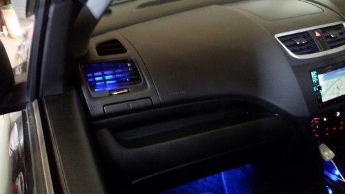 スズキ スイフトスポーツ Z32 エアコン、フットランプLED