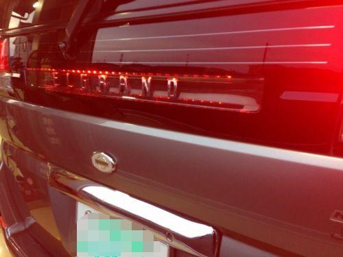 日産エルグランドE50 リアガーニッシュLED 2カラー